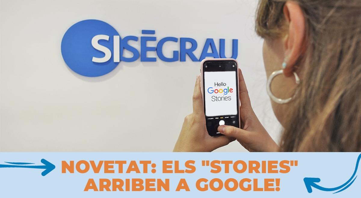 Els stories arriben a Google