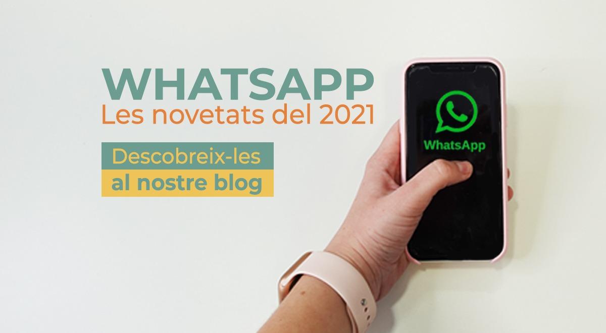 novetats de Whatsapp