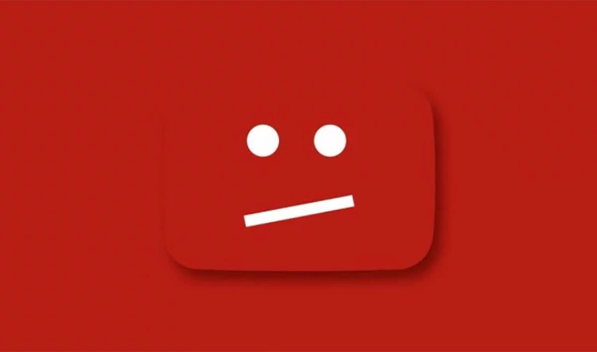 youtube pot tancar el teu canal